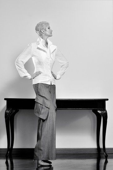 Sylva Lauerova, IMPERSONED. Photo: Karel Losenicky, Milano. Styling: OLO Dressing. Make-Up: G.G., Milano.