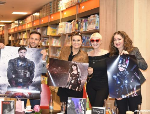 Book launch of comic book The LURKER in Prague