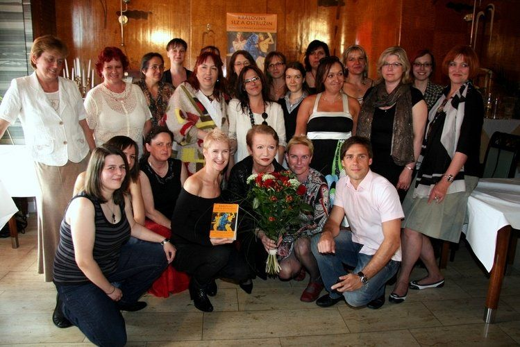 The official book launch event, 23.6.2010, Prague