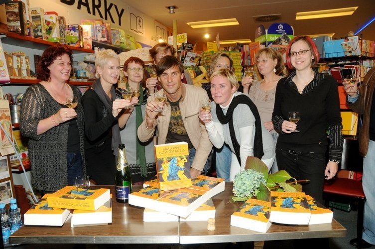 Book launch and book signing event, 6.10.2010, Brno