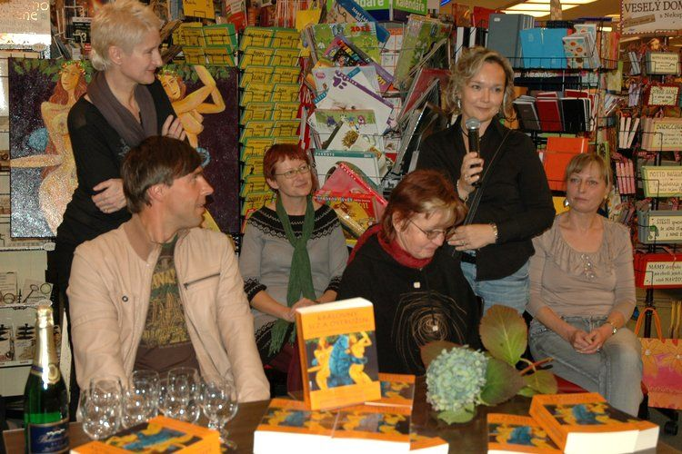 The Queens of Blackberries and Tears - book launch event, Brno