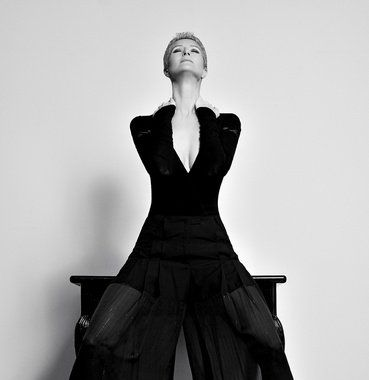 Sylva Lauerová, IMPERSONED. Photo: Karel Losenicky, Milano. Styling: OLO Dressing. Make-Up: G.G.,Milano.