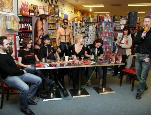 The Slave - book launch event, Brno (photo: Klara Smilkova)