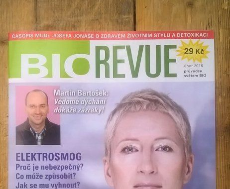 Interview with Sylva Lauerová. She was featured on the cover of BIOREVUE magazine February 2016.