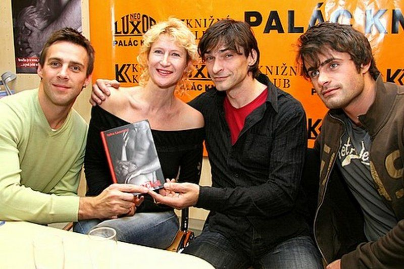 Book signing event, Prague, 10.12.2007