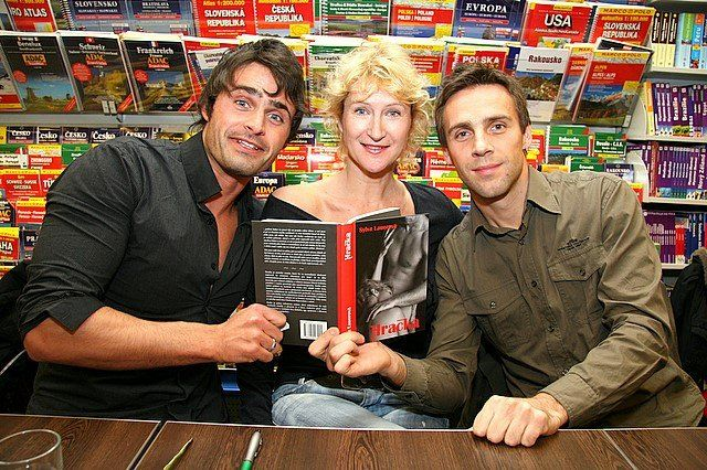 Book signing event, Brno, 12.12.2007