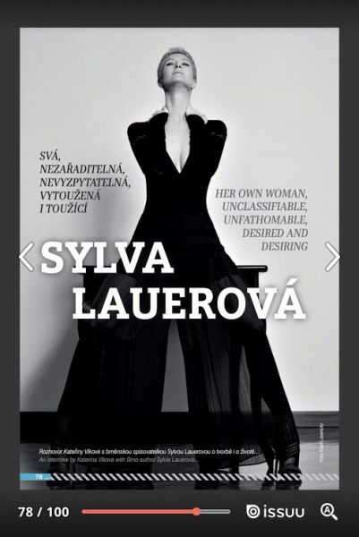Interview with Sylva Lauerová in Flying Mag